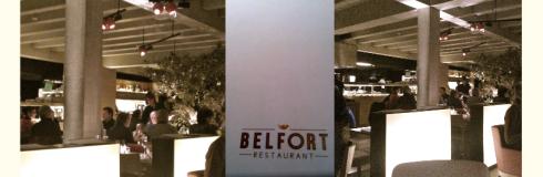 Belfort Stadsrestaurant - Binnekant
