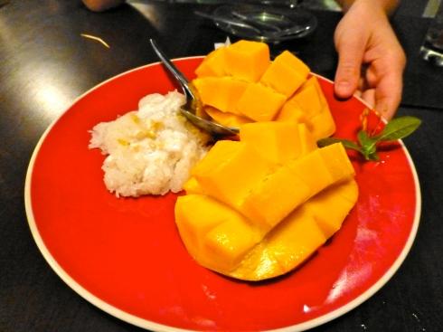 Mango met sticky rice