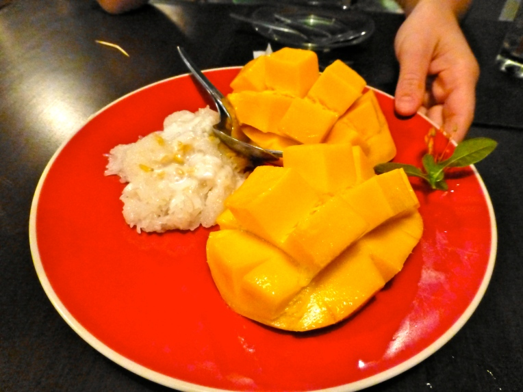 Mango met sticky rice