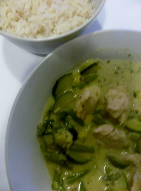 Groene curry: รสอร่อย!
