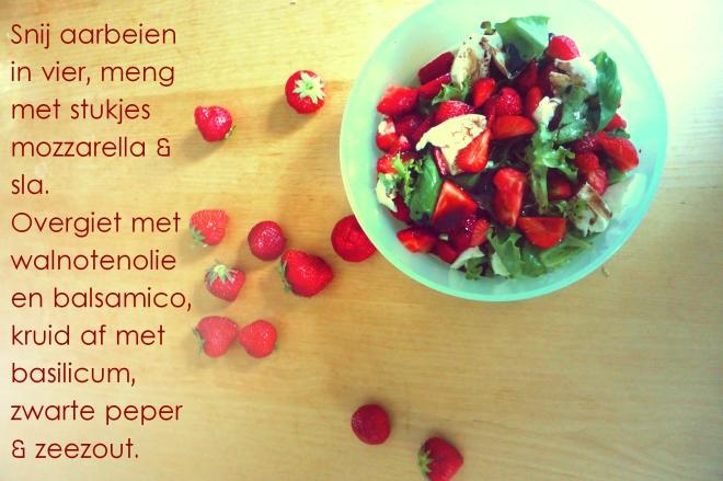 recept aardbei