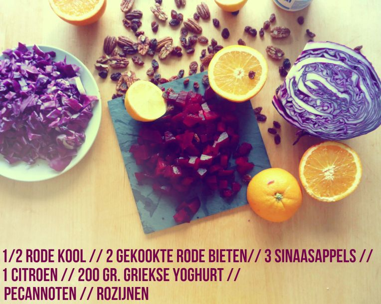 ingredienten red coleslaw