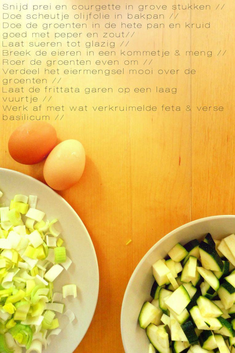 recept frittata