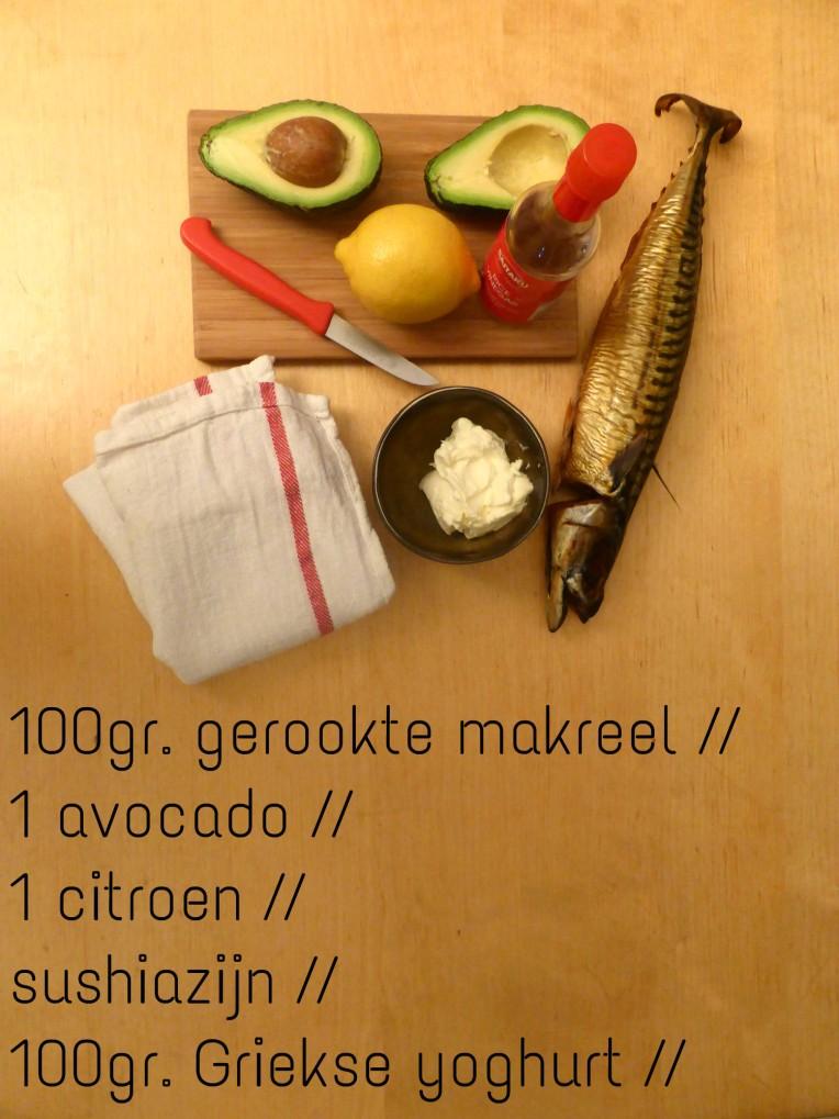 goestjes.be hapje met makreel en avocado
