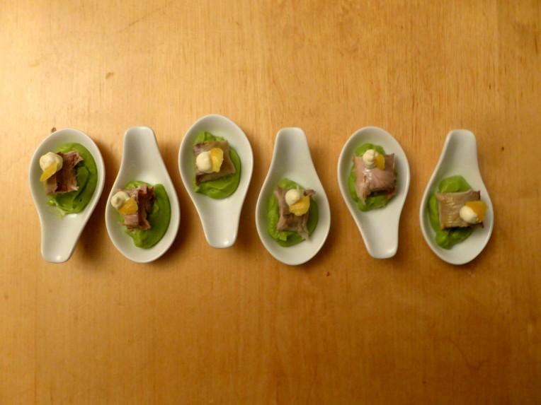 goestjes.be lepelhapje met makreel en avocadocreme resultaat