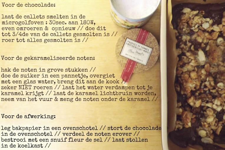 goestjes.be recept voor chocolade 2 uitgeschreven