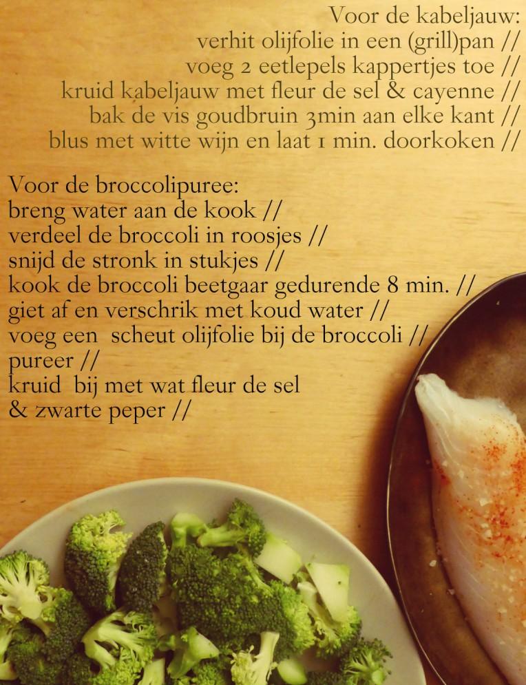 recept kabeljauw