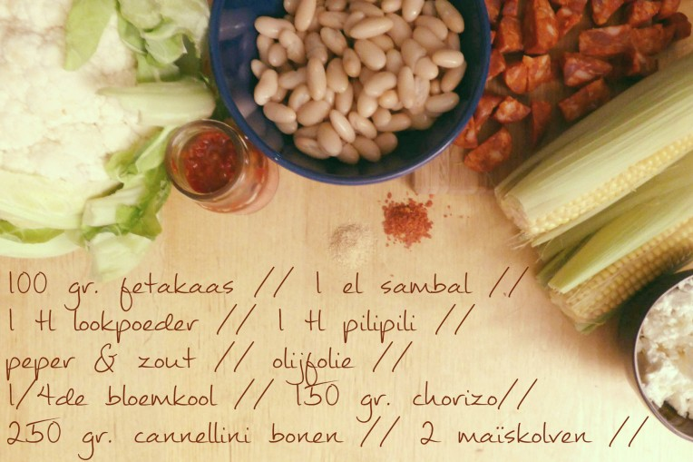 pittige ovenschotel met cannellini bonen ingredienten goestjes.be