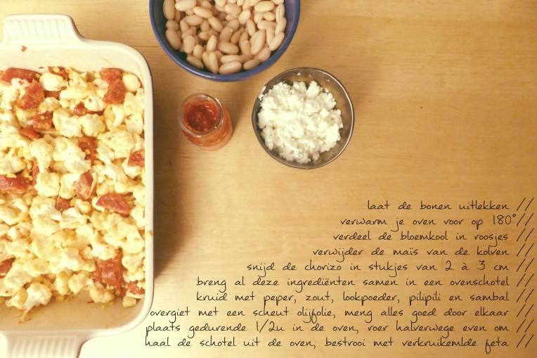 pittige ovenschotel met cannellini bonen recept goestjes.be