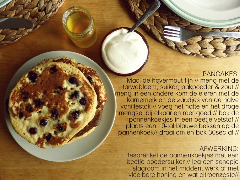recept blueberry pancakes www.goestjes.be