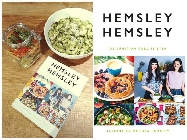 hemsley+hemsley de kunst om goed te eten courgetslierten pesto paranoten