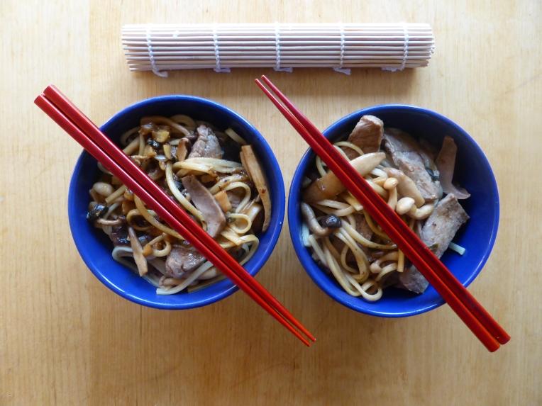 miso biefstuk beef japanese lunch japans shitake geoznde lunch