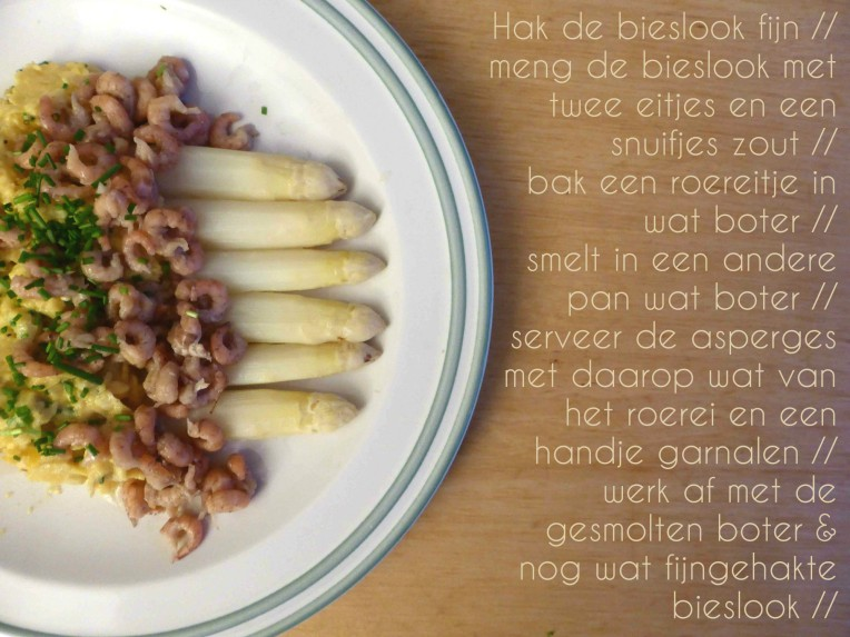 recept asperges